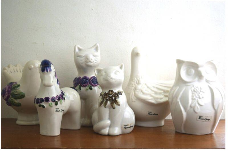 画像5: Rosa Ljung ネコの置物