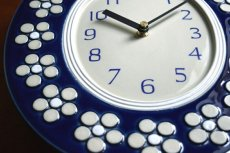 画像9: Rorstrand Sylvia Leuchovius ロールストランド 陶器の時計 (9)