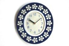 画像1: Rorstrand Sylvia Leuchovius ロールストランド 陶器の時計 (1)