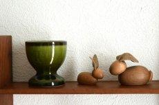 画像5: 木のウサギのフィギュア 置物 (5)