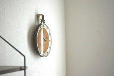 画像3:  Junghans 木と真鍮の掛け時計 (3)