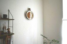 画像4:  Junghans 木と真鍮の掛け時計 (4)