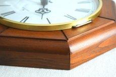 画像10: Junghans 木と真鍮の掛け時計 (10)
