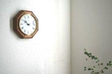 画像2: Junghans 木と真鍮の掛け時計 (2)