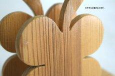 画像4: 木製のレターホルダー (4)