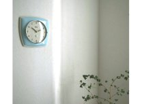 画像2: GARANT 陶器の壁掛け時計 (2)