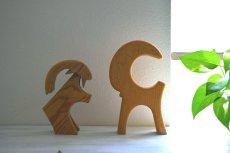 画像6: 木のニワトリの置物 (6)