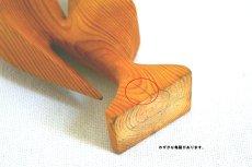 画像5: 木のニワトリの置物 (5)