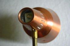 画像9: GEMI アルミと真鍮のテーブルランプ (9)
