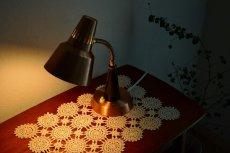 画像6: GEMI アルミと真鍮のテーブルランプ (6)