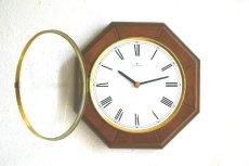 画像7:  Junghans 木製の壁掛け時計 (7)