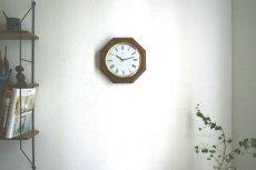 画像3:  Junghans 木製の壁掛け時計 (3)