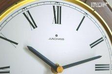 画像8:  Junghans 木製の壁掛け時計 (8)