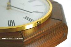 画像10:  Junghans 木製の壁掛け時計 (10)