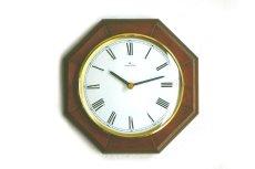 画像1:  Junghans 木製の壁掛け時計 (1)