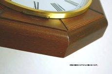 画像11:  Junghans 木製の壁掛け時計 (11)