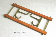 画像9: KLADHANGARE DEKORATIV 木と真鍮のコートハンガー (9)