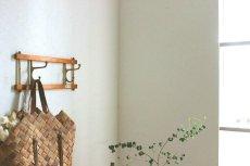 画像4: KLADHANGARE DEKORATIV 木と真鍮のコートハンガー (4)