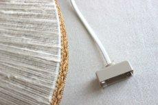 画像13: 麻紐と刺繍のペンダントランプ  (13)