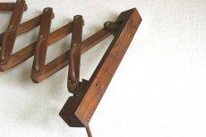 画像14: 木製の壁付けランプ  (14)