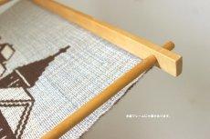 画像8: 木製フレームのタペストリー (8)