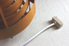画像18: ELLYSETT Hans-Agne Jakobsson ハンス・アウネ・ヤコブソン 木製のペンダントランプ (18)