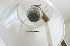 画像9: チークの壁付けランプ (9)