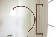 画像2: チークの壁付けランプ (2)