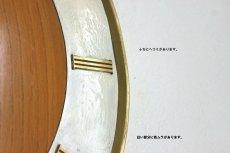 画像8: Junghans チークと真鍮の壁掛け時計 (8)