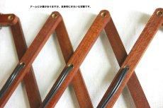 画像11: チークの壁付けランプ  (11)