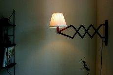 画像5: チークの壁付けランプ  (5)