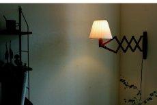 画像6: チークの壁付けランプ  (6)