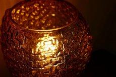 画像8: ガラスと真鍮のテーブルランプ (8)