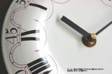 画像6: 木とホーローの掛け時計 (6)