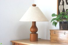 画像1: DOMUS ドムス  木製のテーブルランプ (1)
