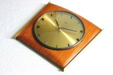 画像8: Diehl チークと真鍮の壁掛け時計 (8)