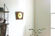 画像3: Diehl チークと真鍮の壁掛け時計 (3)