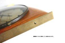 画像10: Diehl チークと真鍮の壁掛け時計 (10)