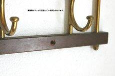 画像7: KLADHANGARE DEKORATIV 木と真鍮のコートハンガー (7)
