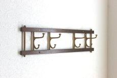 画像1: KLADHANGARE DEKORATIV 木と真鍮のコートハンガー (1)