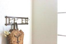 画像3: KLADHANGARE DEKORATIV 木と真鍮のコートハンガー (3)
