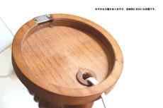 画像12: 木製の壁付けランプ (12)