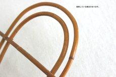 画像4: 籐で作られたプランタースタンド (4)