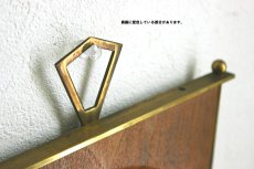 画像5: Junghans チークと真鍮の壁掛け時計 (5)