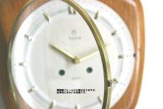 画像12: Junghans 木と真鍮の壁掛け時計 (12)