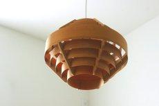 画像3: ELLYSETT Hans-Agne Jakobsson ハンス・アウネ・ヤコブソン 木製のペンダントランプ (3)