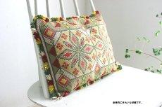 画像2: 刺繍クッション (2)