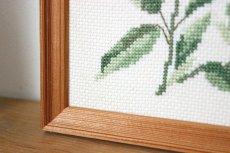 画像5: 刺繡の額装壁掛け (5)