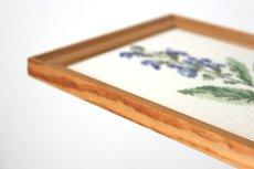 画像6: 刺繡の額装壁掛け (6)