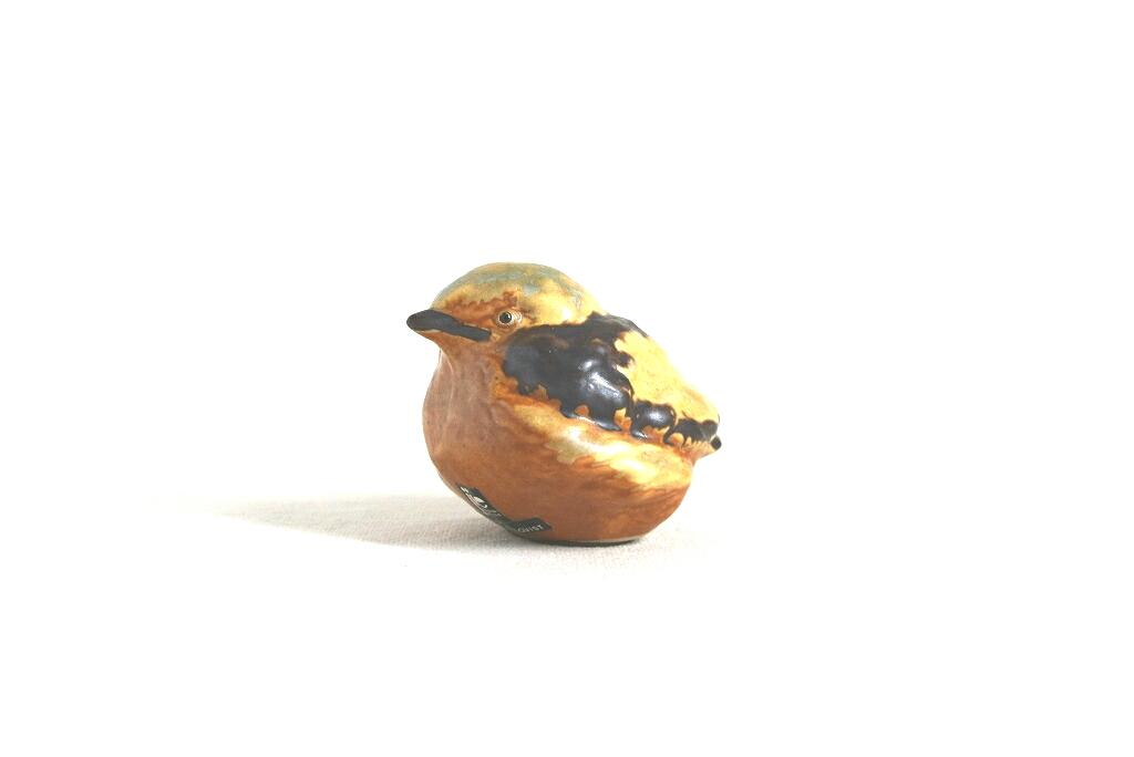 画像1: jie 陶器の鳥の置物  (1)